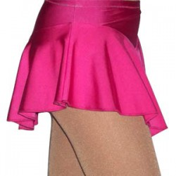 Jupette de patinage lycra - Rose
